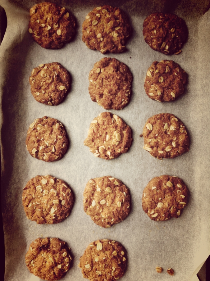 Baked Anzacs