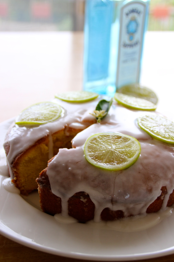 Cake and gin