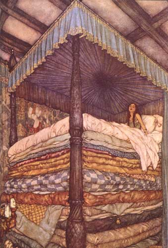 Cover of The Princess and The Pea by Hans Christian Andersen