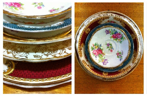 My antique plates