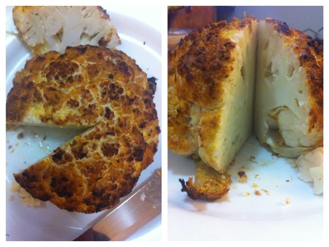 Whole Roasted Tandoori Cauliflower